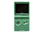 Game Boy Advance SP: EMERALD