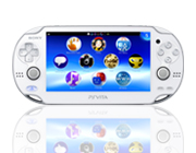 PS Vita: CRYSTAL WHITE