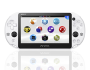 PS Vita Slim: GLACIER WHITE