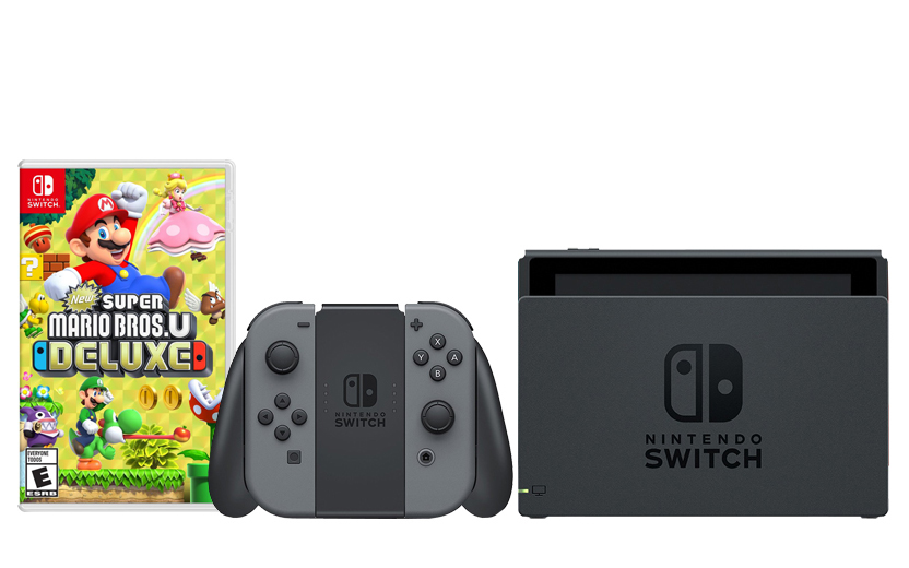 Nintendo Switch: GRAY