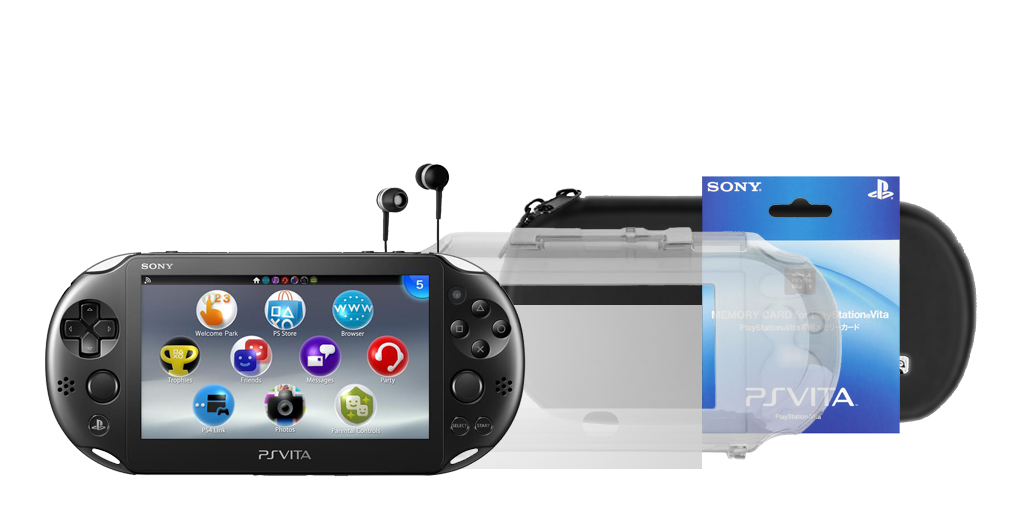 PS Vita Slim: BLACK