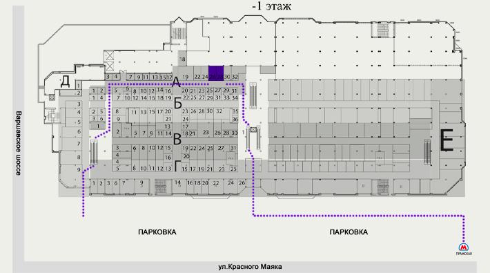 Электронный рай на пражской схема павильонов фото 736
